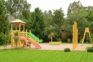 Детская площадка на загородном участке